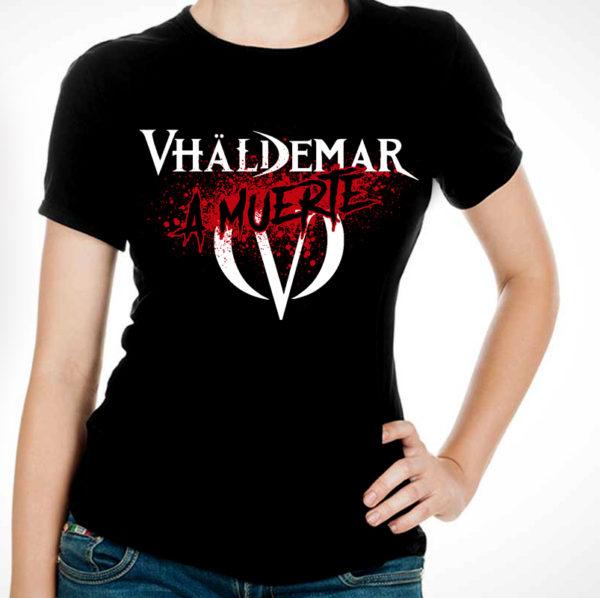 """A Muerte - Camiseta """"A Muerte"""" Chicacamiseta chica"""