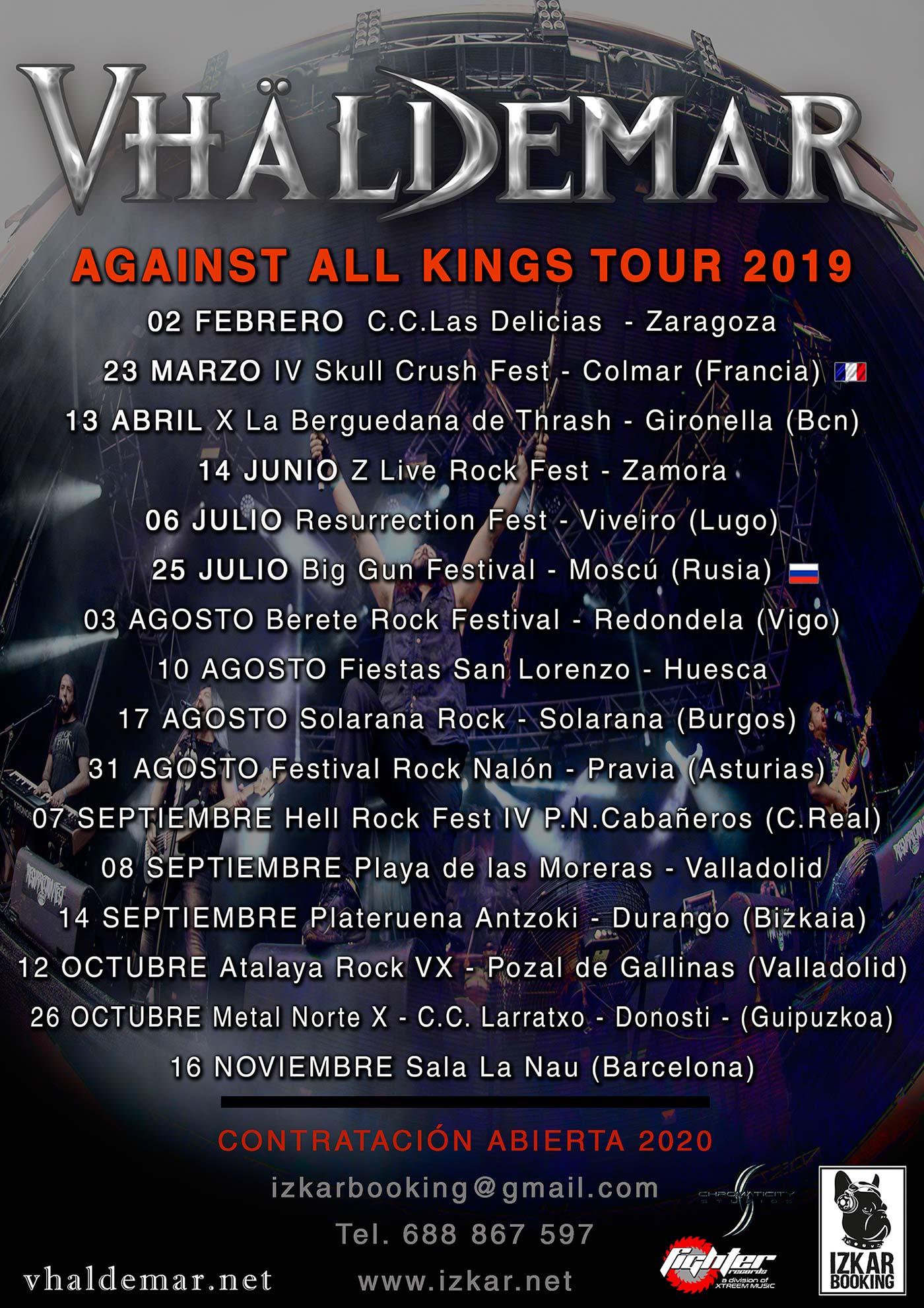 Vhaldemar tour 2019
